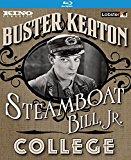 Buster Keaton: Steamboat Bill, Jr. / College (Blu-ray)